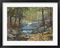 Framed Glen Creek Waterfalls