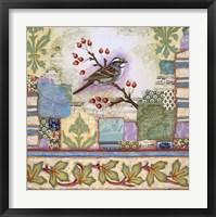 Framed Edgartown Sparrow