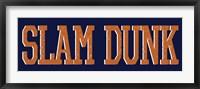 Framed Slam Dunk