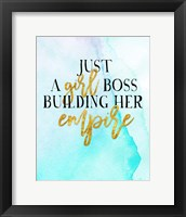 Framed Girl Boss