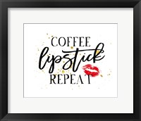 Framed Coffee Lipstick Repeat