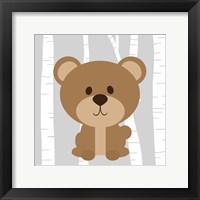 Woodland Bear Framed Print