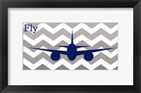 Framed Airplane Fly