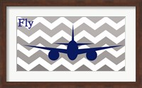 Framed Airplane Fly