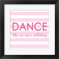 Framed Ballerina Dance