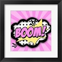 Framed Boom!