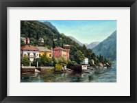 Framed Lenno Shore