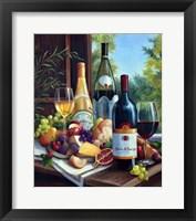 Framed Still Life with Wines