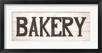 Bakery Framed Print