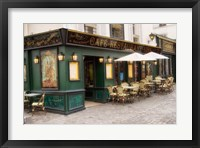 Framed Cafe Monmartre