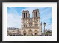 Framed Notre Dame Cathedral I