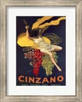 Framed Cinzano