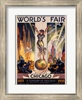 Framed Chicago World's Fair 1933