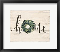 Framed Home Wreath