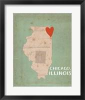 Chicago Framed Print
