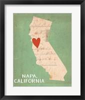 Napa Framed Print