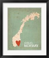 Framed Norway