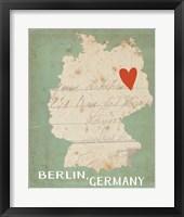 Framed Berlin