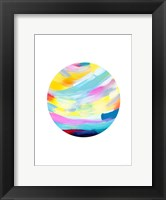 Framed Colorful Uprise Ball II