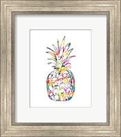 Framed Electric Pineapple