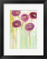 Framed Purple Flowers