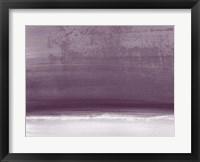 Framed Amethyst Shoreline