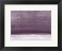Framed Amethyst Shoreline