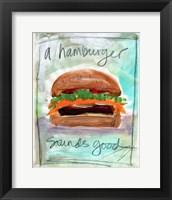 Framed Burger