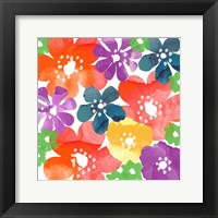 Framed Bold Flowers