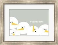 Framed It's Snow Time