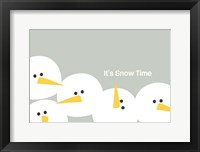 Framed It's Snow Time