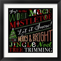 Framed Holiday Happiness