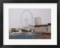 Framed Ferris Wheel Landscape