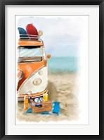 Beach Fun Framed Print