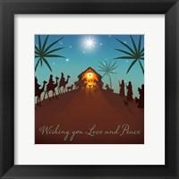 Framed Wishing You Love