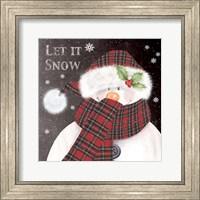 Framed Let It Snow 3