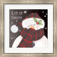 Framed Let It Snow 3