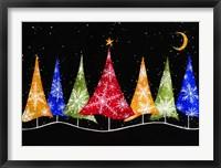 Framed Holiday Trees