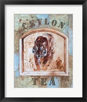 Framed Ceylon Tea