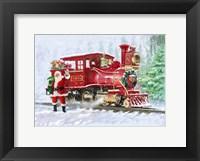 Framed Christmas Train