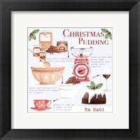Christmas Pudding 1 Framed Print