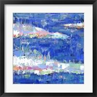 Framed Blue Series Calm