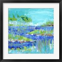Framed Blue Series Inspiring