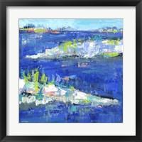 Framed Blue Series Peaceful