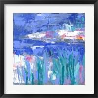 Framed Blue Series Quiet