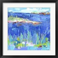 Framed Blue Series Serene