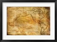 Framed Vintage Map II