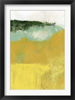 Framed Yellow Field II