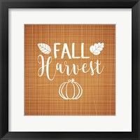 Framed Fall Harvest