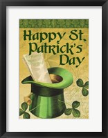 Framed Happy St. Patrick's Day